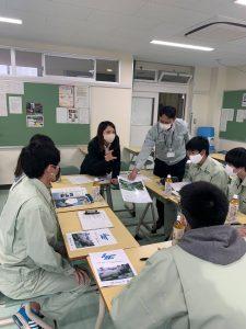 岐阜工業高等専門学校との交流サロン