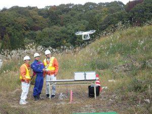 無人航空機による災害応急対策に関する演習