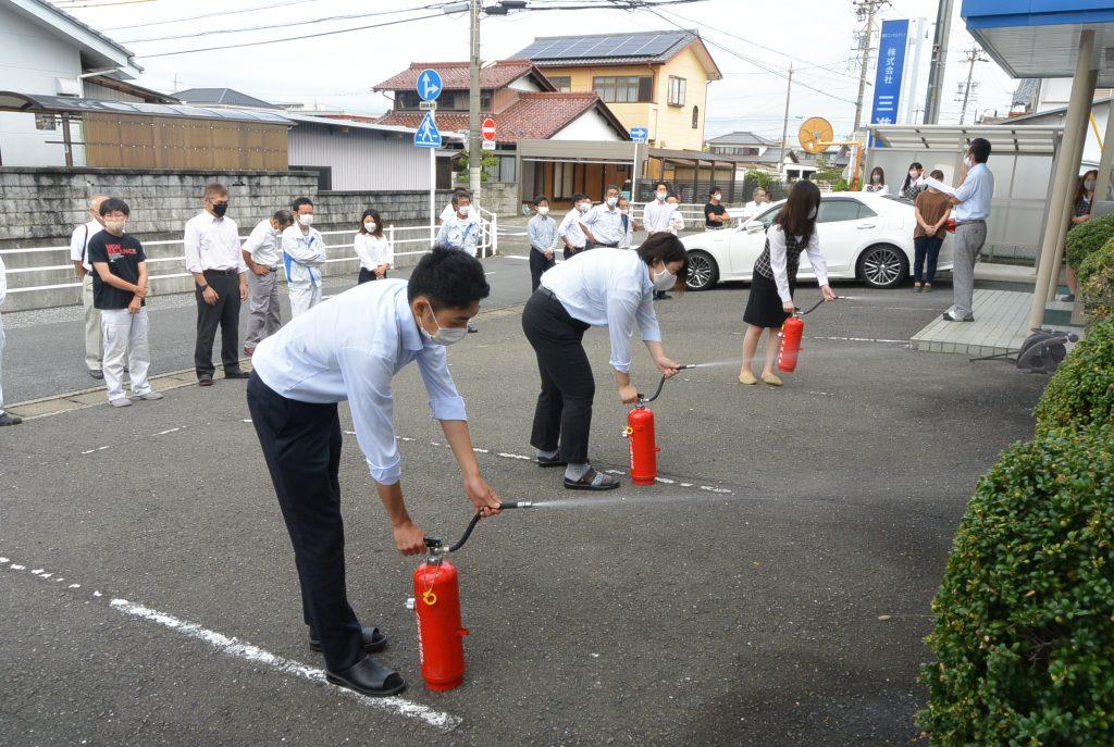 防災訓練の実施